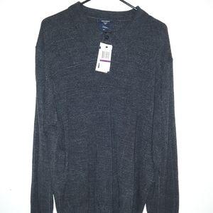 NWT Men's Dockers long sleeve 3 button shirt BG36